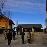 後楽園〜赤城神社〜靖国神社
