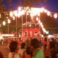 高野台公園 盆踊り大会
