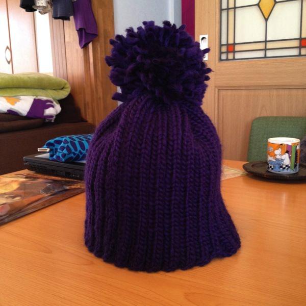 ポンポン帽