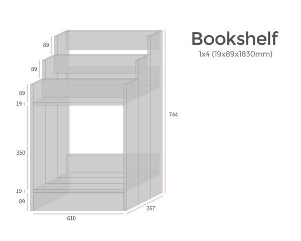 本棚の設計図