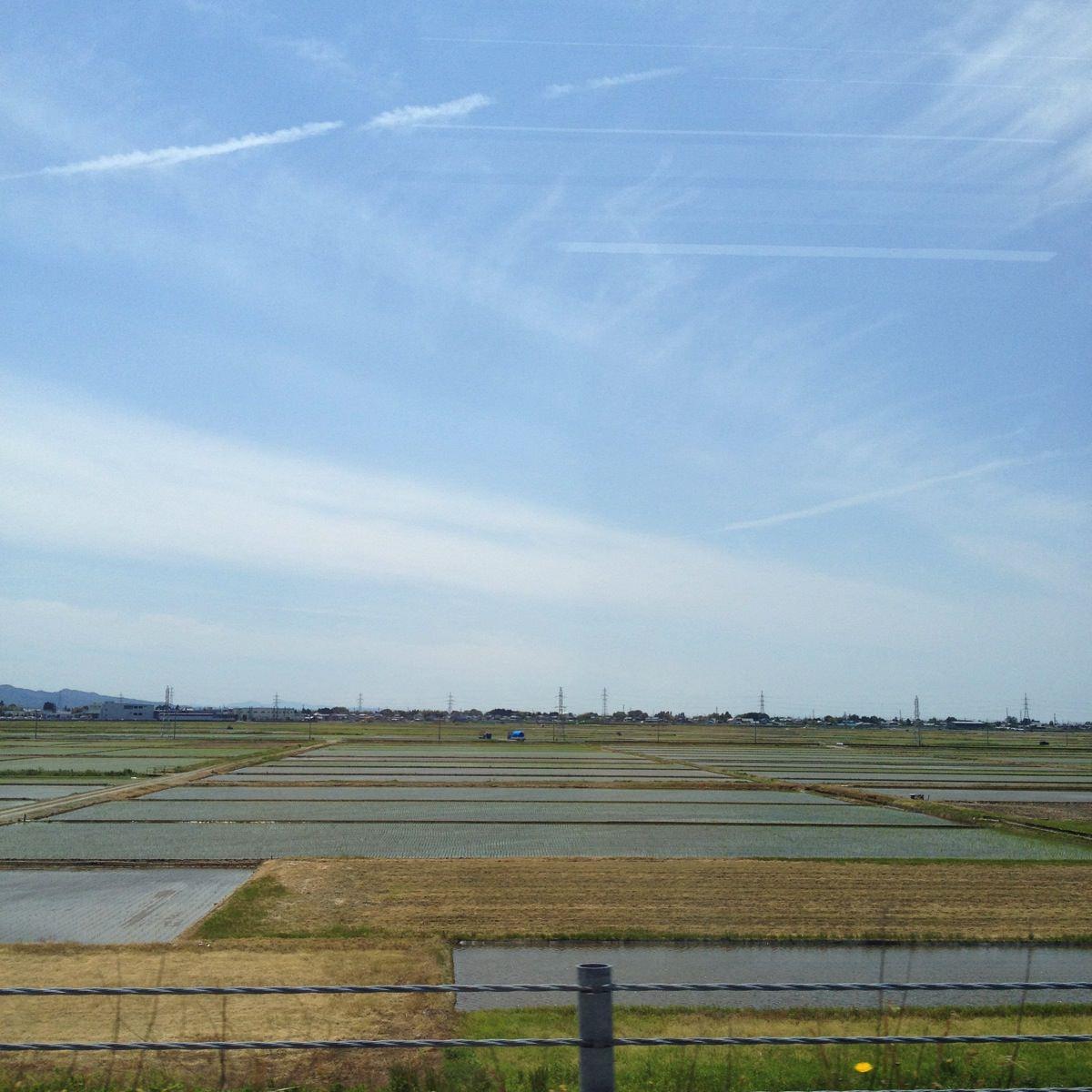 新潟市内を自転車で散策