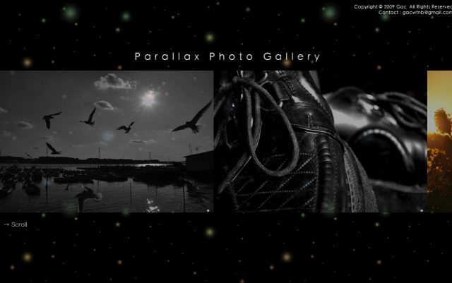 Parallax Photo Gallery