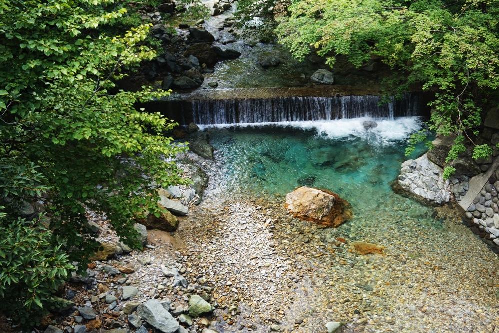 深山ダム湖