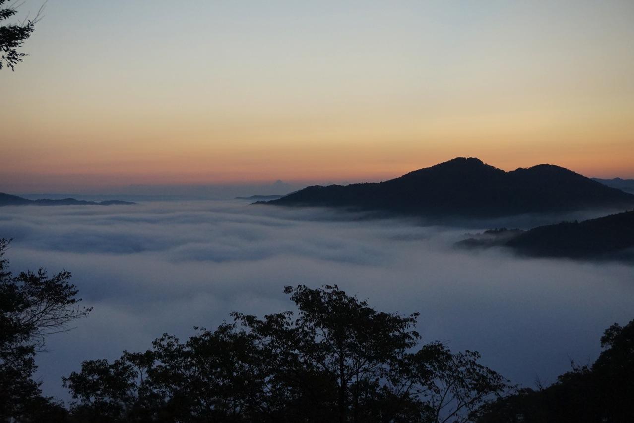 鎌倉山の雲海