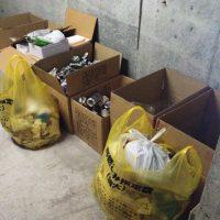 ゴミの種類とゴミ捨ての頻度