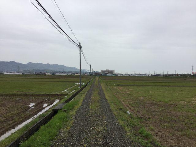 長岡市の田園風景