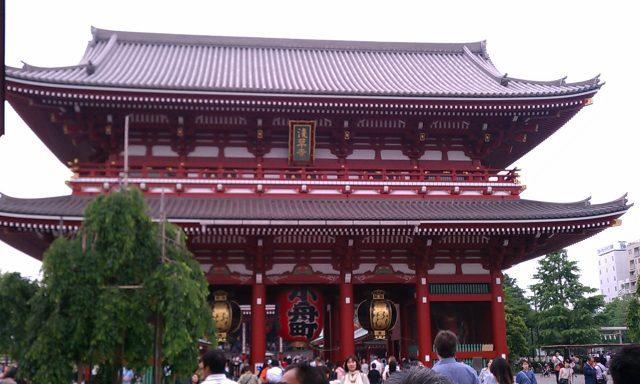 浅草橋から浅草寺