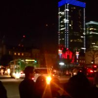 東京駅のプロジェクションマッピング