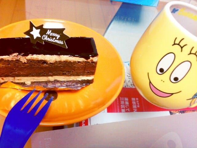残りのケーキ