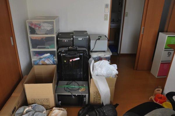 引っ越しの荷造り