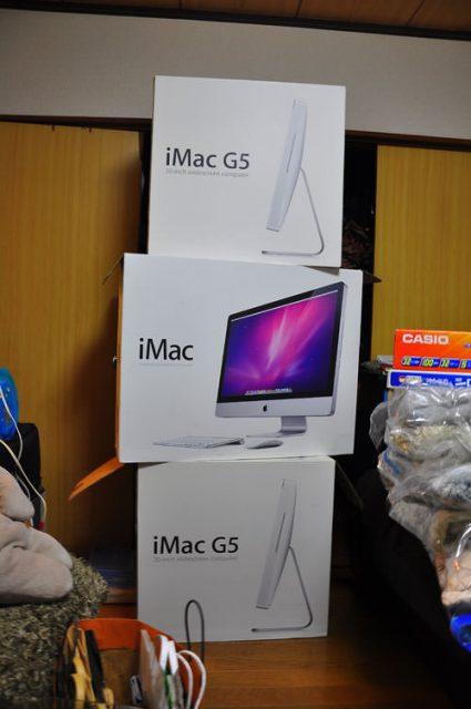 iMac 届いた