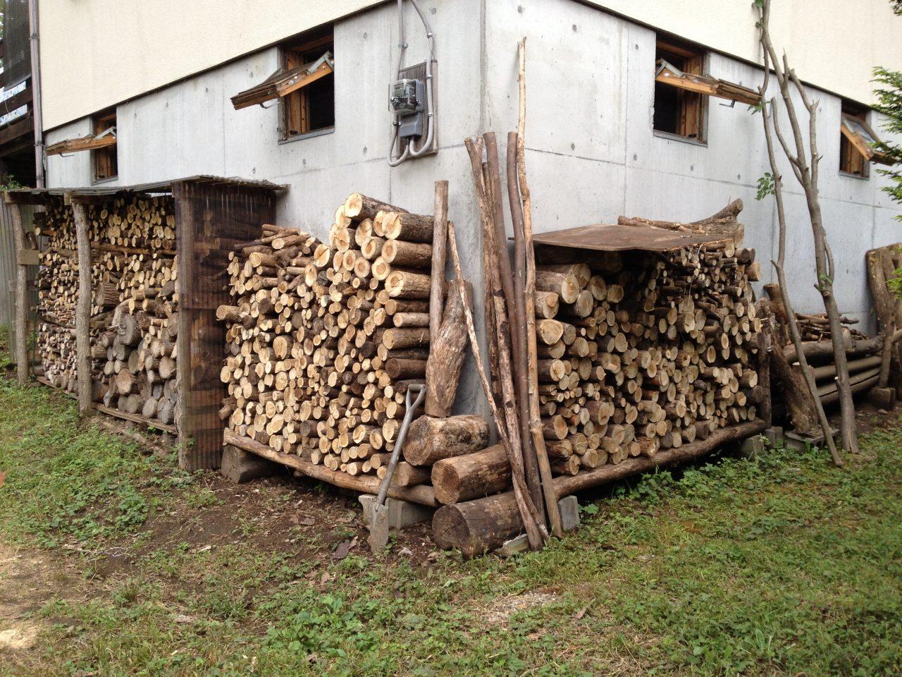 薪の在庫状況