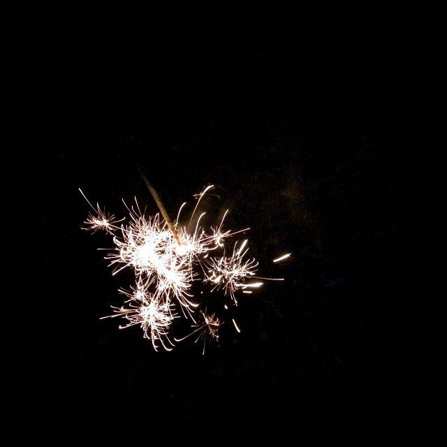 かき氷と花火