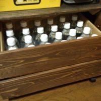24本入りペットボトルのダンボールを収納するケースを製作