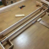 薪棚用のパーツ製作
