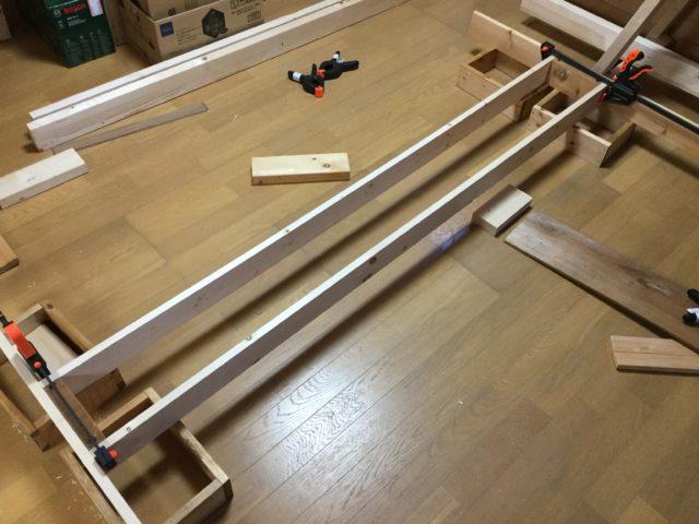 プログラミングと薪棚製作