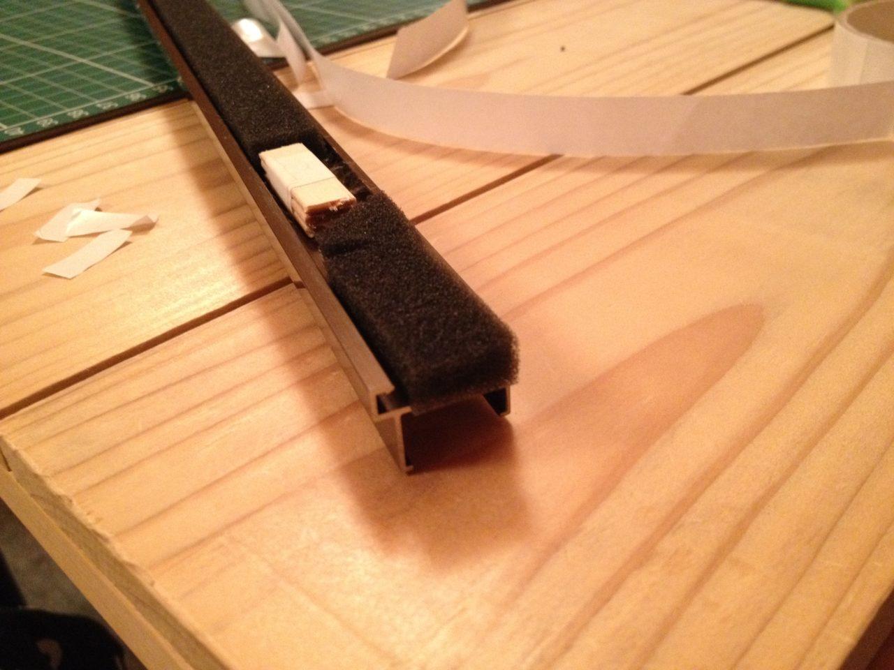 スライド網戸の補修