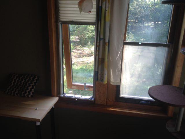 窓用エアコンの撤去