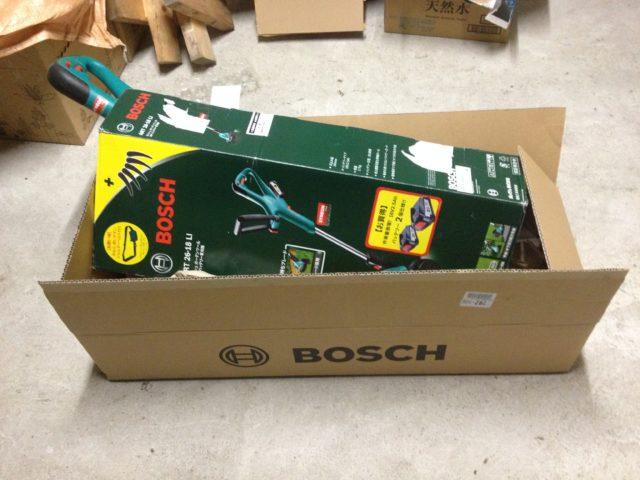 BOSCHの草刈り機の修理(2回目)