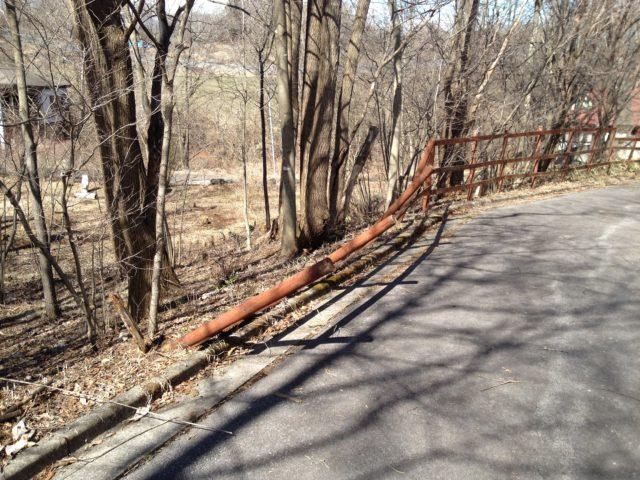 木製フェンスの再修理と壊れた原因