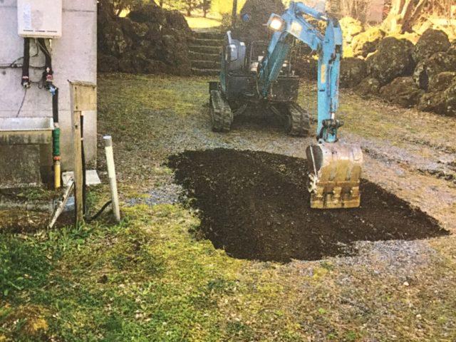 浄化槽の浸透桝の交換と費用