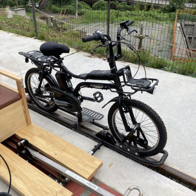 吾妻峡レールバイク アガッタン