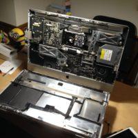 iMac(27-inch, Late 2009)の画面が頻繁に消えるのでインバータ交換するも改善なし