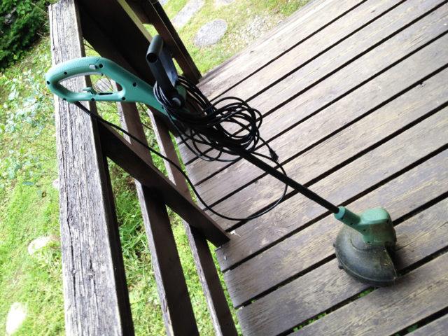 BOSCHのケーブル付き草刈機を購入