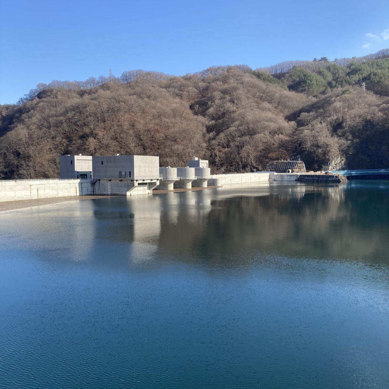 完成後の八ッ場ダム