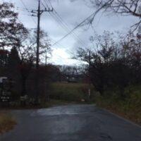 那須の自宅への帰り道