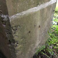 チョークで蟻の侵入防止