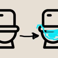 3Fトイレの封水切れ対策